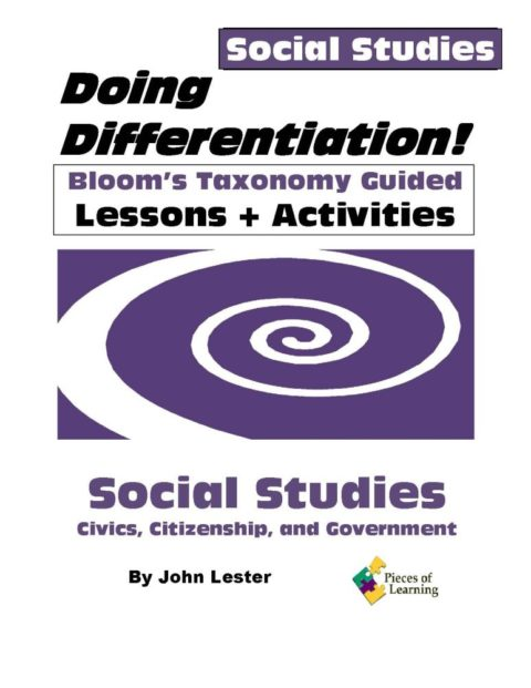 Doing Differentiation! Using Bloom's Taxonomy - Social Studies