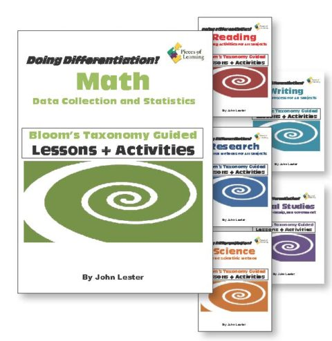 Doing Differentiation! Using Bloom's Taxonomy - 6 Subject Set