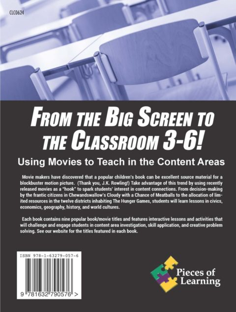 From the Big Screen to the Classroom - 3-6