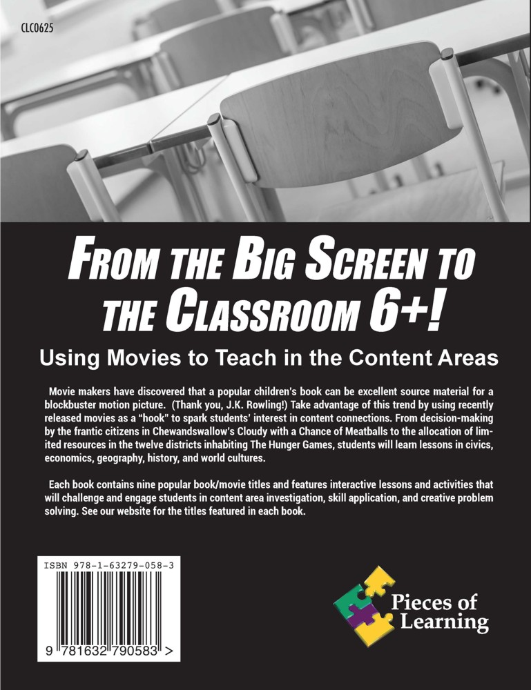 From the Big Screen to the Classroom – 6th+