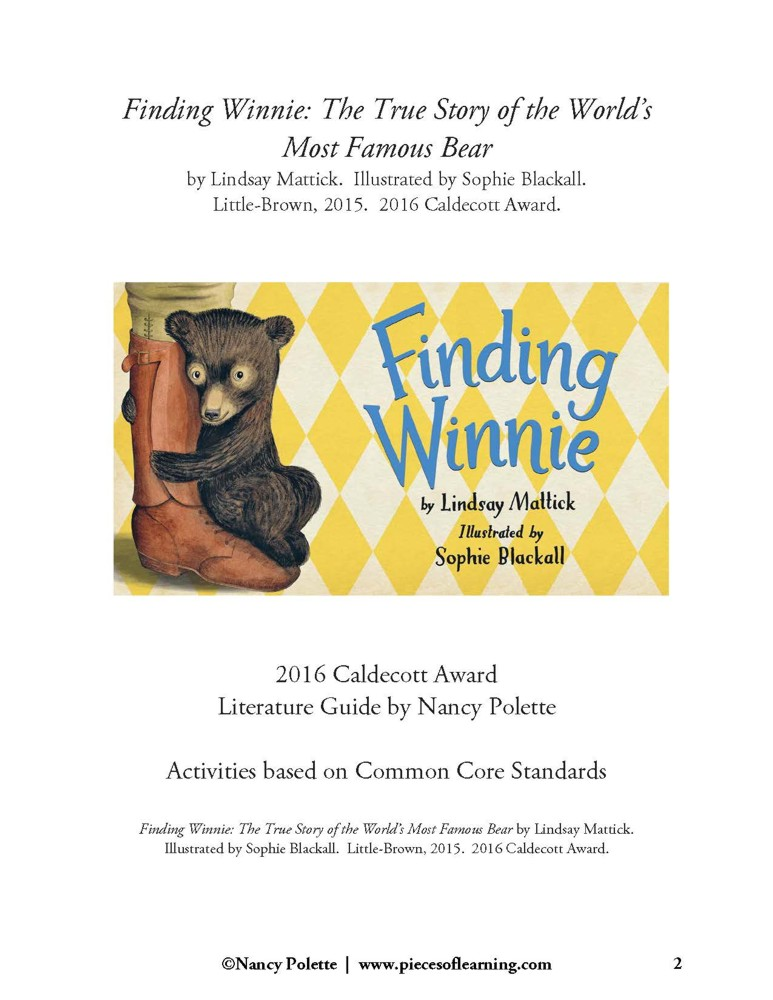 Finding Winnie - The True Story... Guide - CCSS